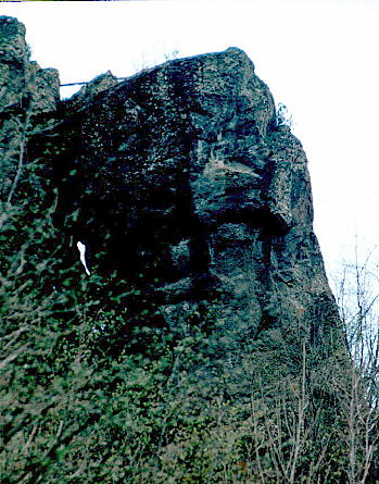 megalithic head of Borzone